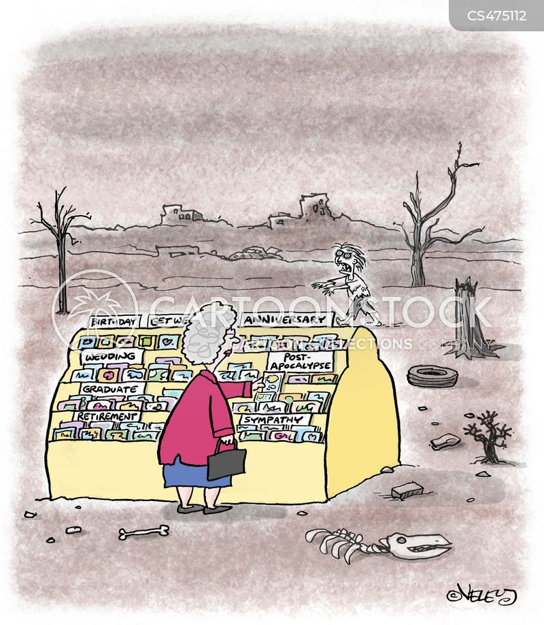 post-apocalypse cartoon
