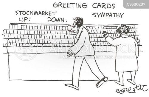economic upturns cartoon