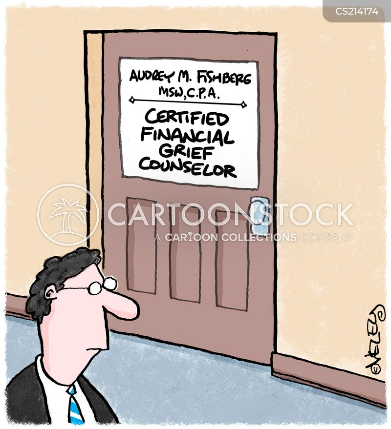 Grief Counselors Cartoons and Comics - funny pictures from CartoonStock