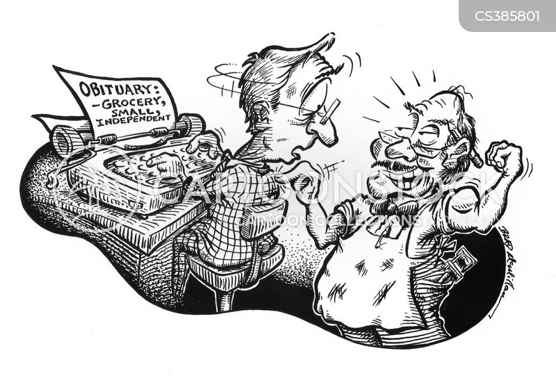 greengrocers cartoon