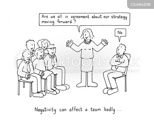 group dynamic cartoon