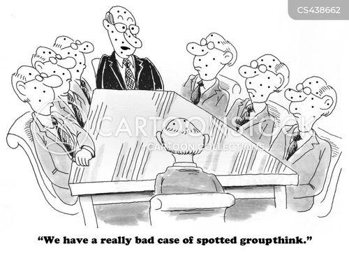 group think cartoon