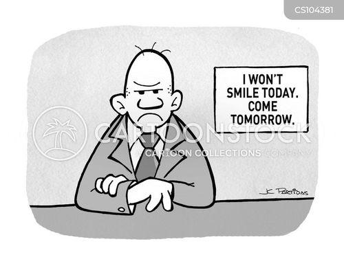 frowns cartoon