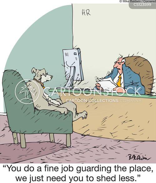 performance review cartoon