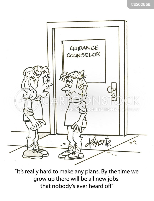 guidance counsellors cartoon