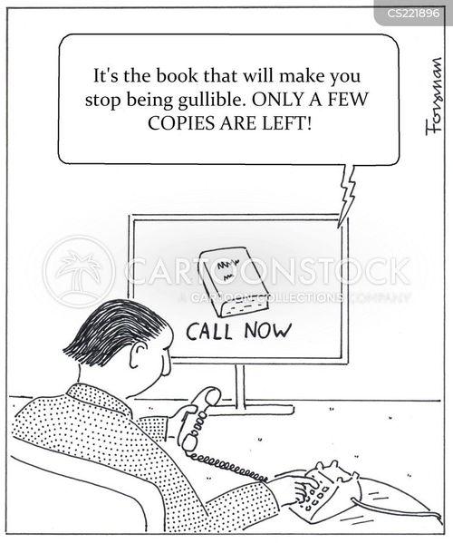 conned cartoon