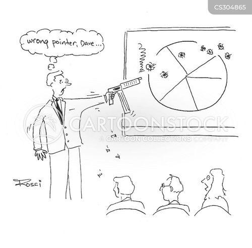 pointers cartoon