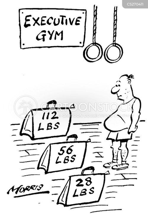 weight liftersweight training cartoon
