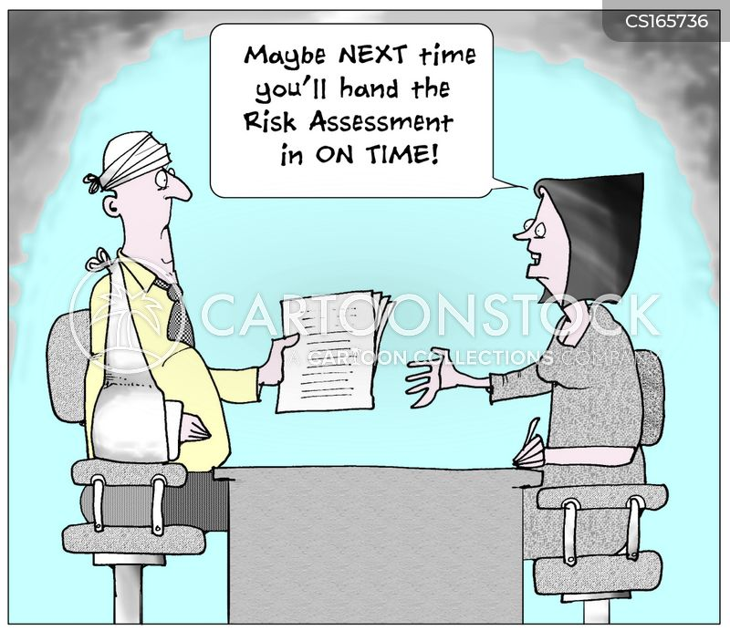 Risk Assessment Cartoons And Comics - Funny Pictures From Cartoonstock