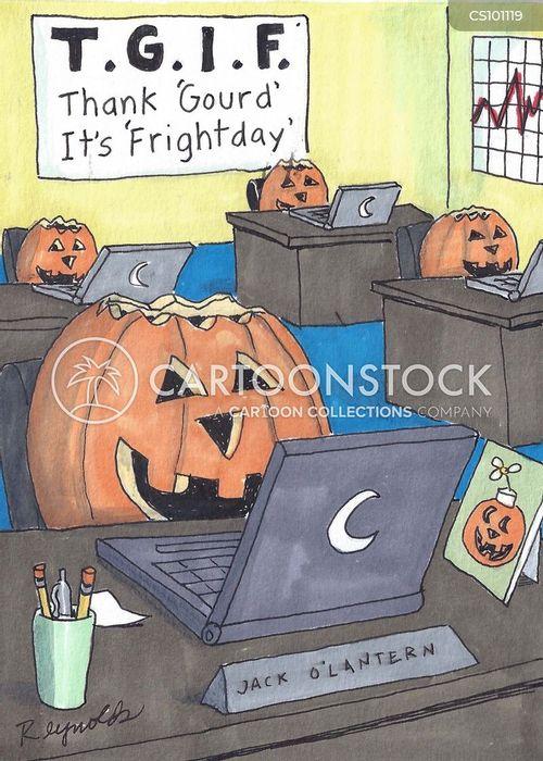 halloween decoration cartoon