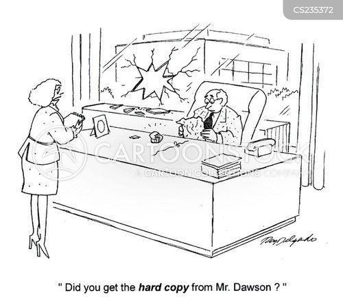 digital copies cartoon