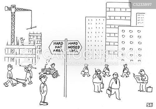 business district cartoon