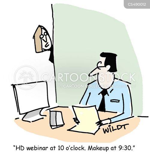 webinar cartoon