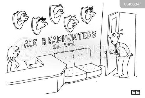 beheaded cartoon