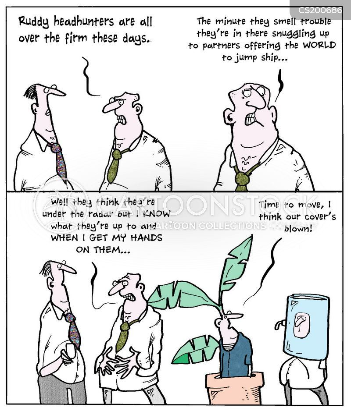recruitment process cartoon