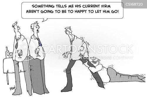 headhunters cartoon