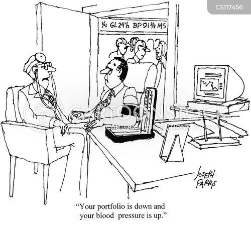 high blood pressure cartoon