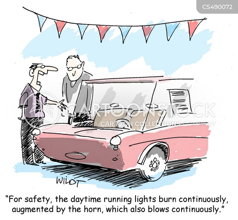 headlight cartoon
