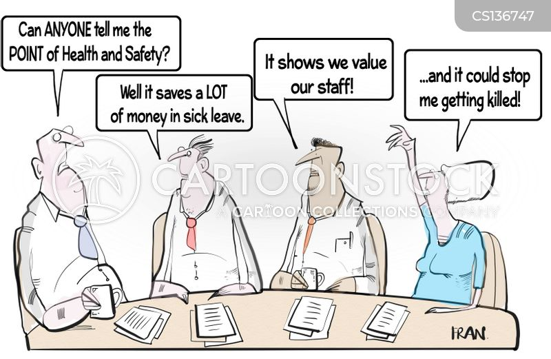 safety inspectors cartoon