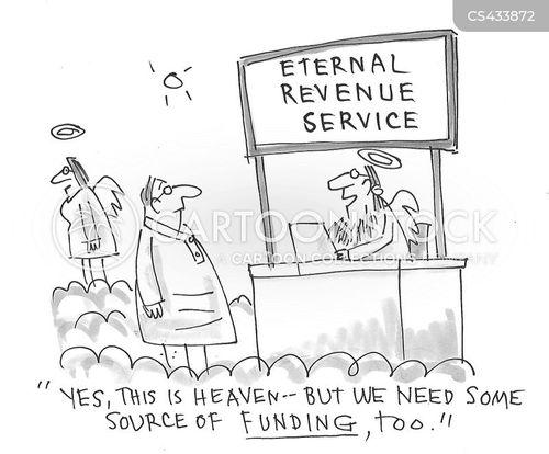 budget deficits cartoon
