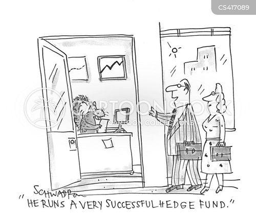 financial investor cartoon