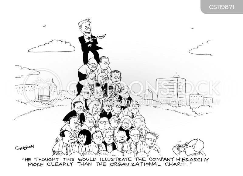 Human Pyramid Cartoons and Comics - funny pictures from CartoonStock