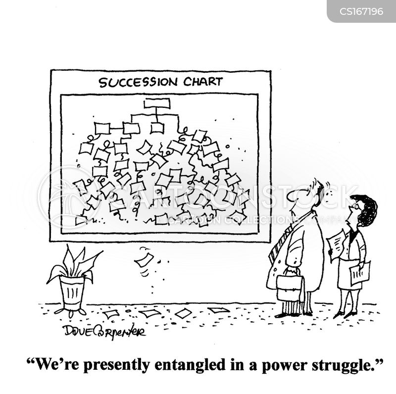 power struggles cartoon