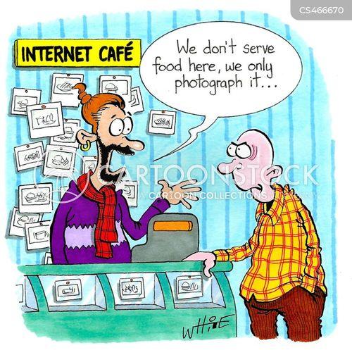 foodie fad cartoon