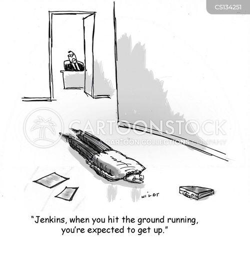 prostrate cartoon