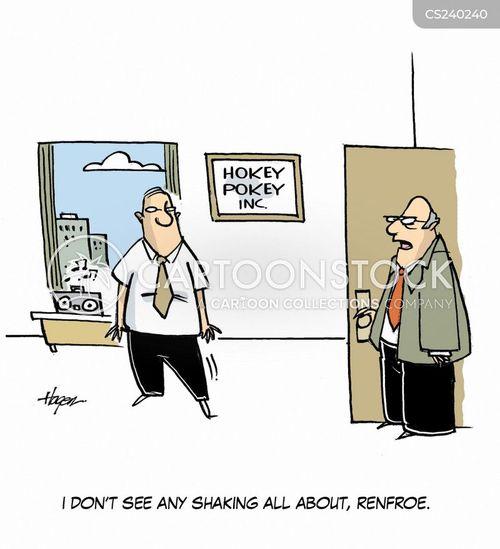 hokey cokey cartoon