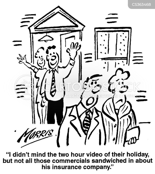 vacation video cartoon