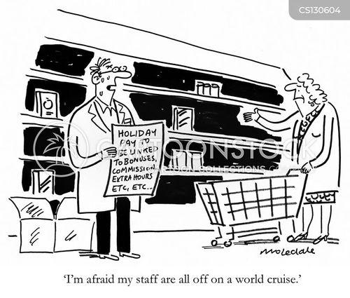 world cruise cartoon