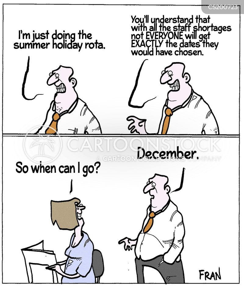 holiday time cartoon