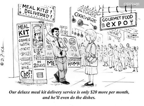 home cooks cartoon