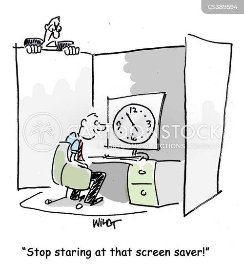screensaver cartoon