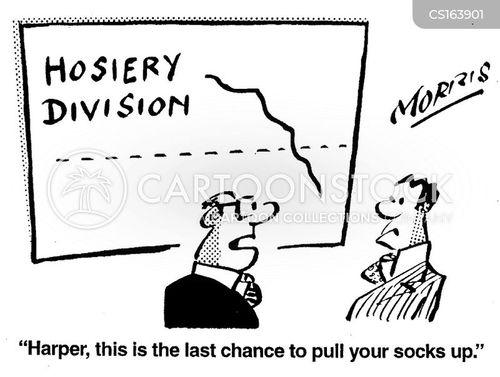 hosiery cartoon