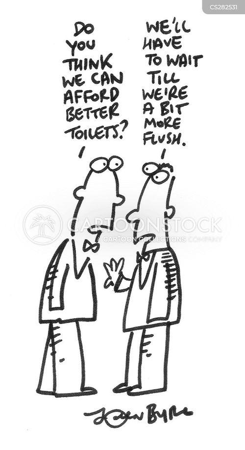 budgetting cartoon