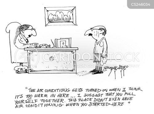 aircon cartoon