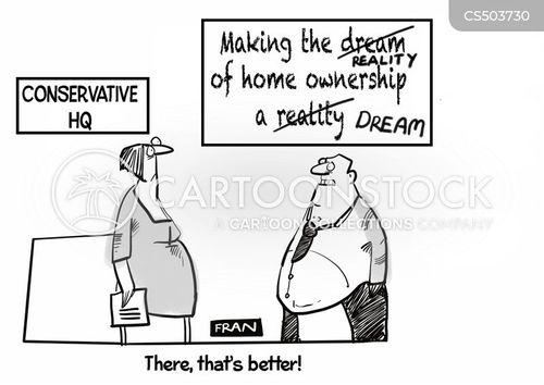 conservative policy cartoon