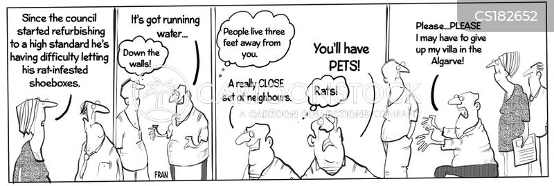 rental property cartoon