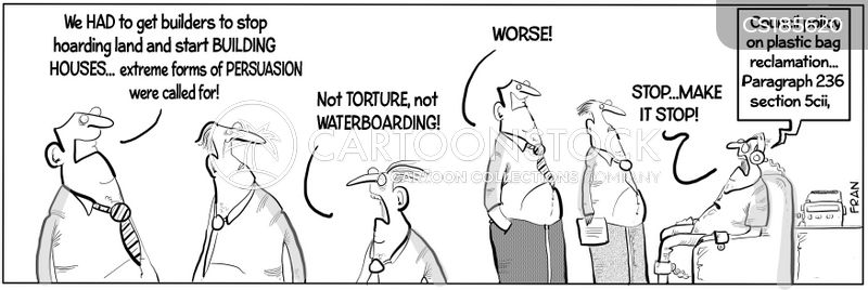enhanced interrogation cartoon