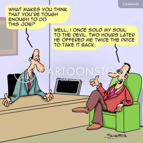ruthlessness cartoon