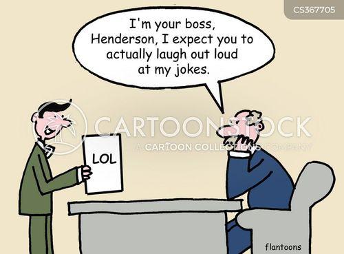 laugh out loud cartoon
