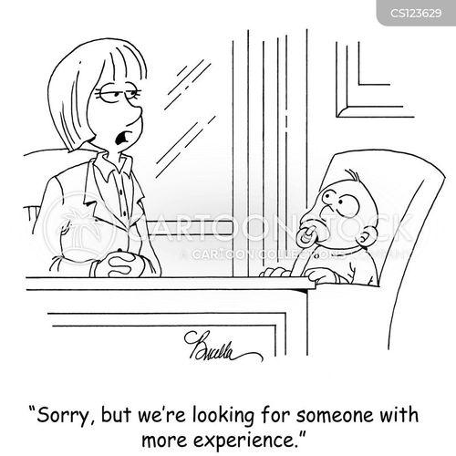 inexperience cartoon