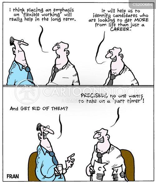 working hour cartoon