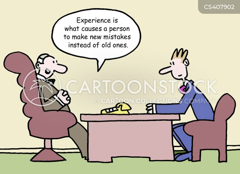 making mistakes cartoon