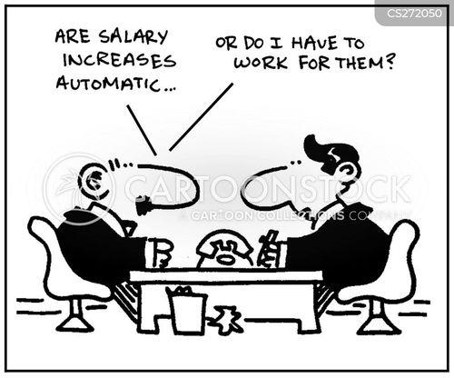 pay increases cartoon