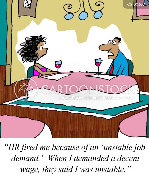 job demands cartoon