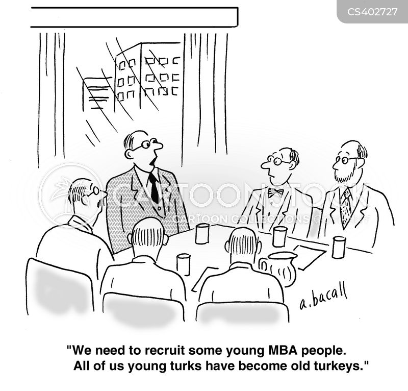 new recruits cartoon