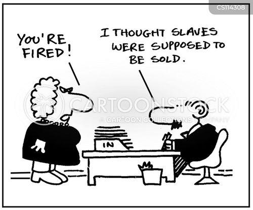 slaver cartoon